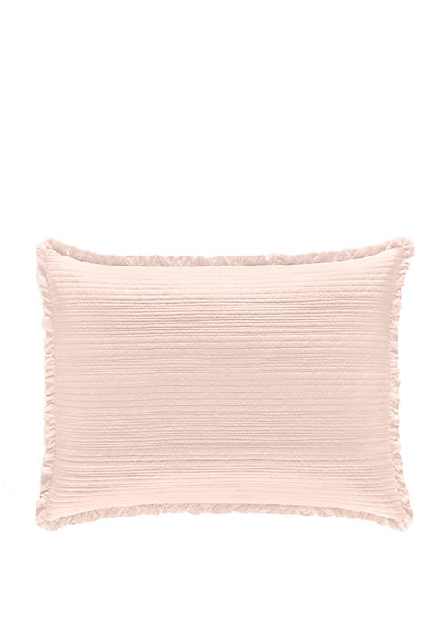 Piper & Wright Hadley Blush Quilted Sham