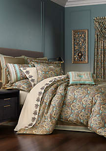 J Queen New York Victoria 4 Piece Comforter Set