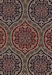 Taormina Red 4 Piece Comforter Set