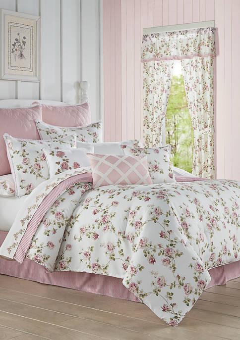 Royal Court Rosemary Rose Comforter Set