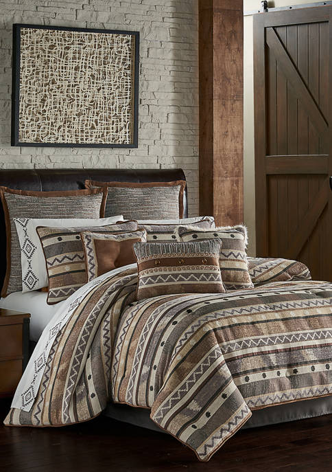 J Queen New York Timber Comforter Set