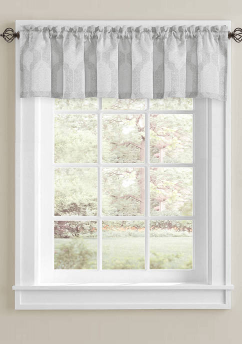 J Queen New York Soho Window Straight Valance