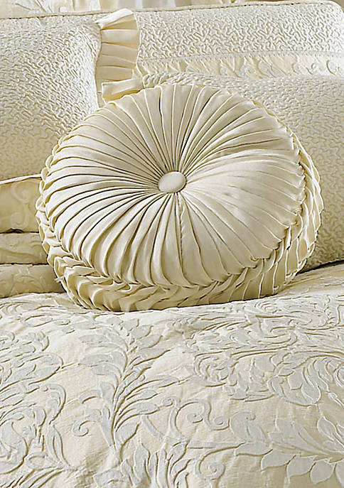 Marquis Tufted Round Pillow 15-in. x 4-in.