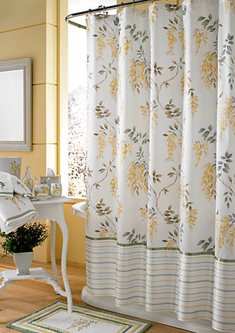 J Queen New York Citron Shower Curtain   belk
