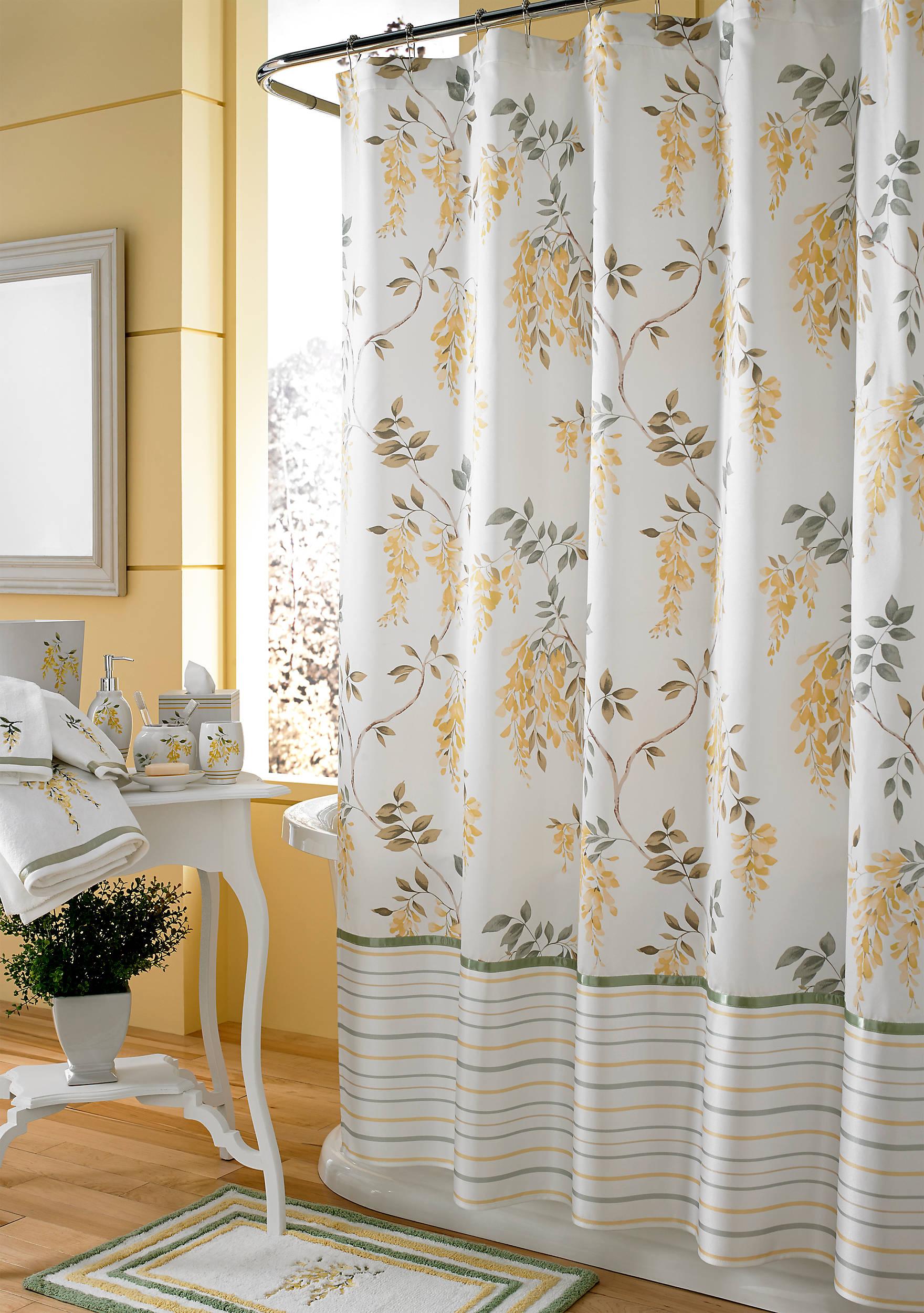J Queen New York Citron Shower Curtain | belk