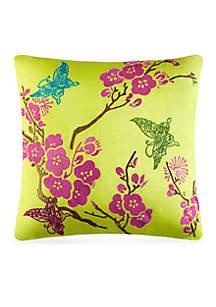 Carla Embroidered Decorative Pillow