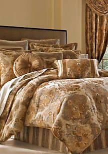 J Queen New York Bradshaw King Comforter Set 96 In X 110