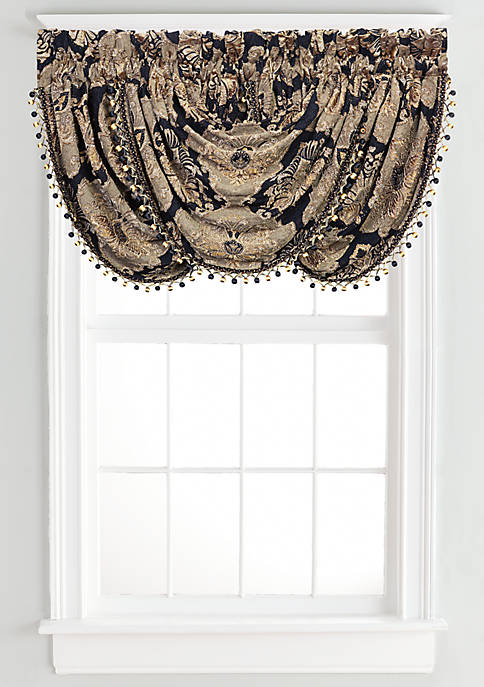 J Queen New York Bradshaw Waterfall Valance 33-in.
