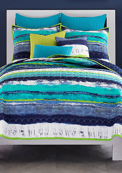 J Queen New York Cordoba Twin Coverlet 64-in.
