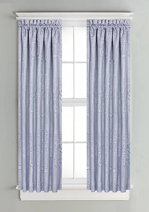 J Queen New York Wilmington Window Panel Pair