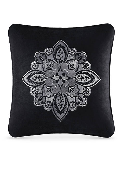 J Queen New York Guiliana Embroidered Decorative Pillow