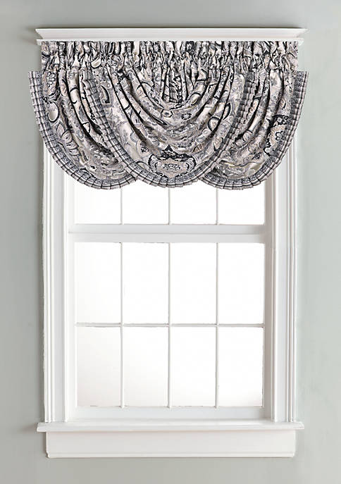 J Queen New York Guiliana Waterfall Valance