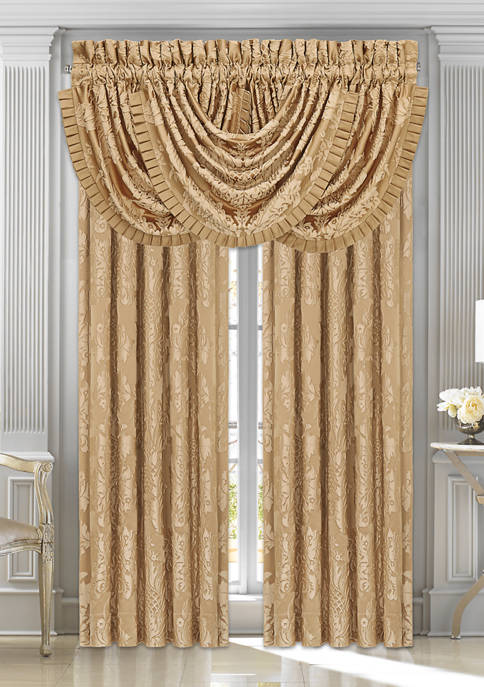 Five Queens Court Colonial Gold 84 Inch Window