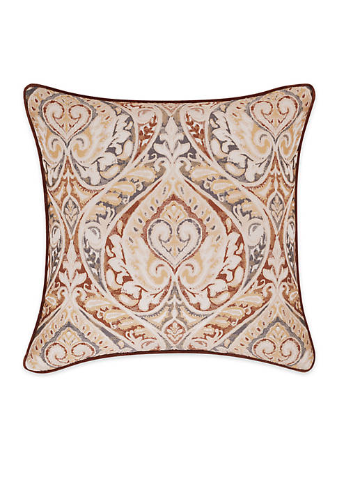 J Queen New York Serenity Embroidered Decorative Pillow