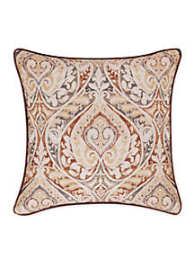 Serenity Embroidered Decorative Pillow