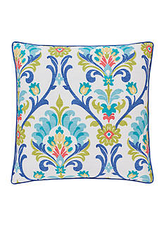 J by J Queen New York Panama Caribbean 20-in. Decorative Pillow