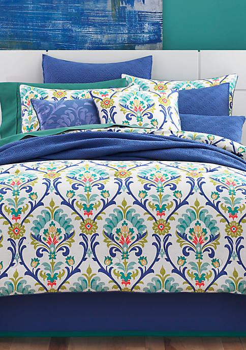 Panama Caribbean Queen Comforter Set