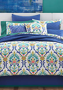 J Queen New York Panama Caribbean Twin Comforter Set