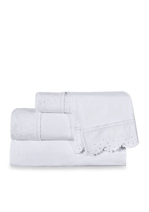Piper & Wright Eyelet Sheet Set