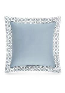 Ansonia Indigo 16-in. Square Decor Pillow