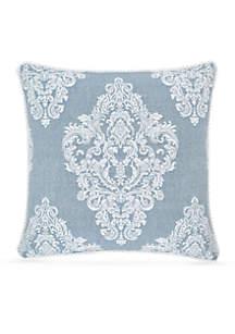 Ansonia Indigo 20-in. Square Decor Pillow