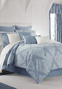 Ansonia Indigo King Comforter Set