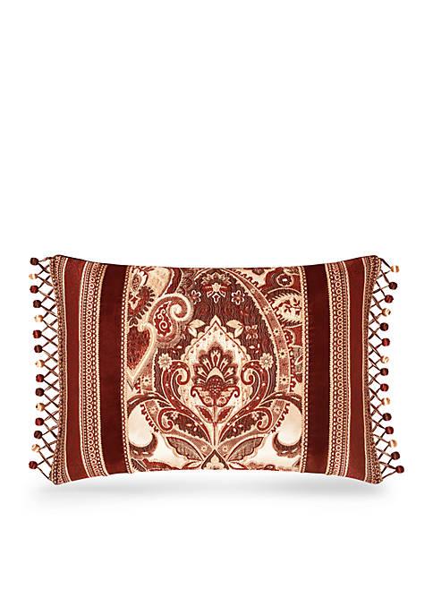 Rosewood Boudoir Decorative Pillow