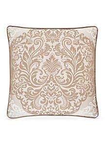 La Scala Damask Square Decorative Pillow