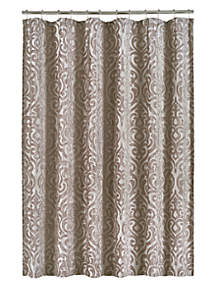 J Queen New York Sicily Pearl Shower Curtain