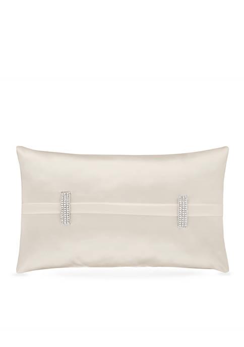 J Queen New York Satinique Boudoir Decorative Pillow