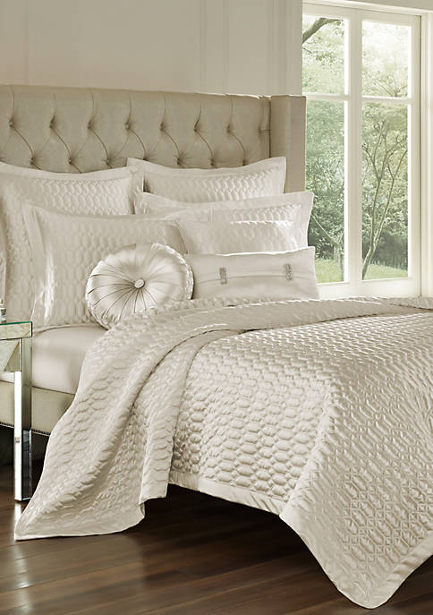 J Queen New York Satinique Coverlet