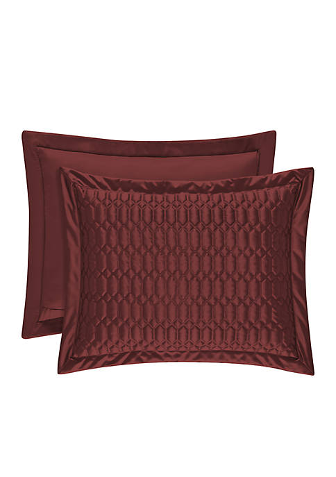 J Queen New York Satinique Pillow Sham