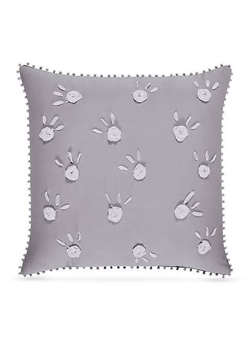 Piper & Wright Sabrina Embroidered Square Pillow