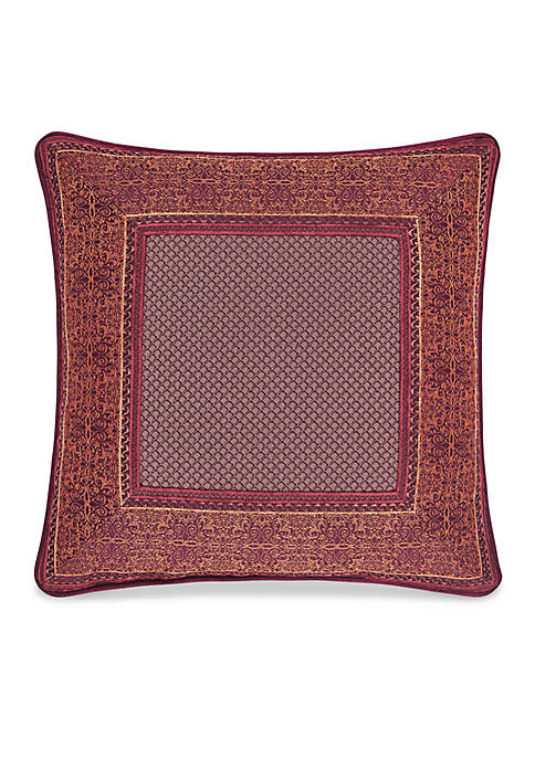 J Queen New York Ellington Square Decorative Pillow