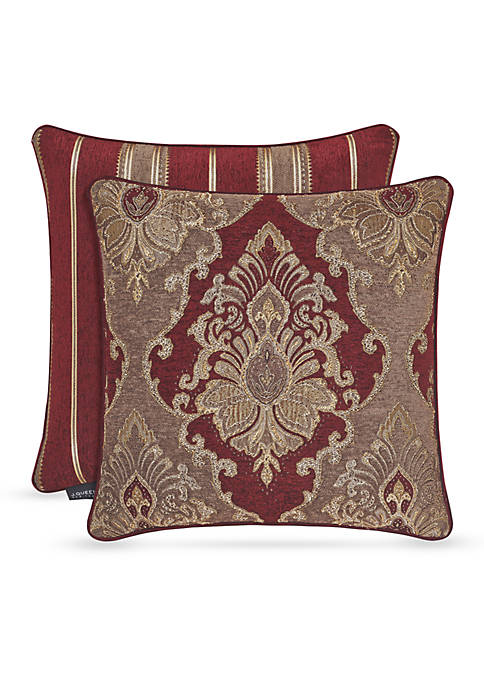 J Queen New York Crimson Fashion Decorative Pillow
