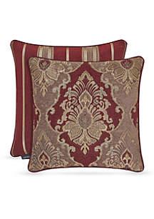 J Queen New York Crimson Fashion Decorative Pillow