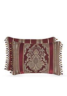 Crimson Boudoir Decorative Pillow