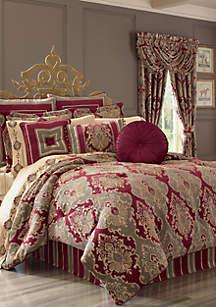 Crimson Comforter Set