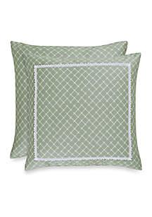 Julia Diamond Decorative Pillow