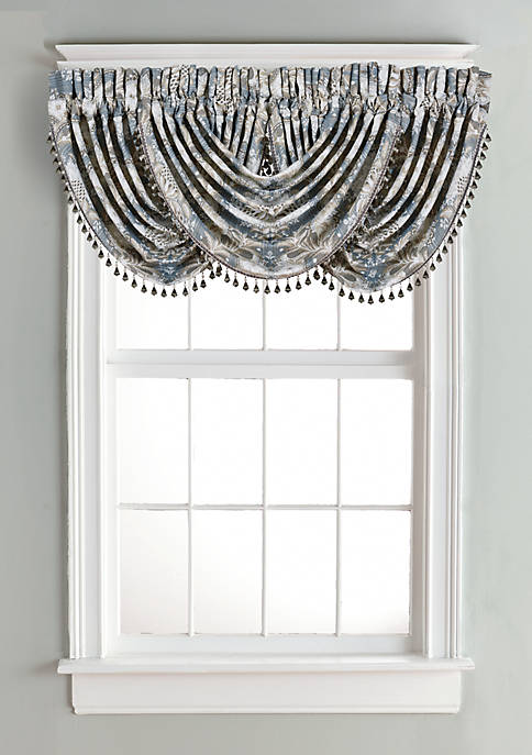 J Queen New York Crystal Palace Waterfall Valance