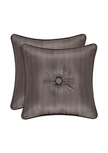 Astoria Square Satin Decorative Pillow