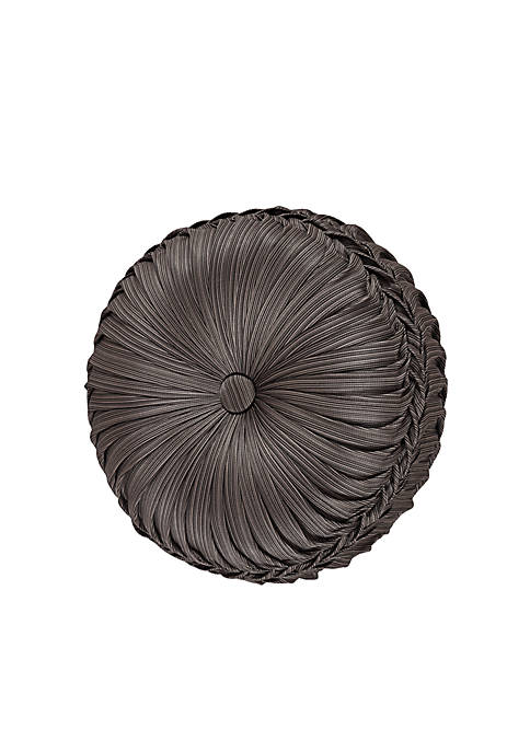 J Queen New York Astoria Tufted Round Pillow