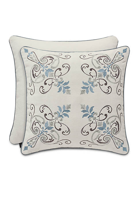 J Queen New York Giovani Embroidered Square Decorative