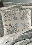 Giovani Embroidered Square Decorative Pillow