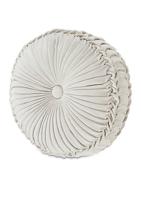 Giovani Tufted Round Decorative Pillow