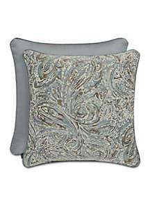 Giovani Paisley Square Decorative Pillow
