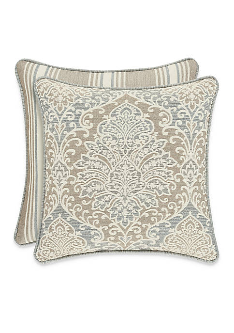 J Queen New York Romano Ice Damask Decorative