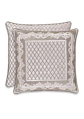 Bel Air Sand Scroll Decorative Pillow
