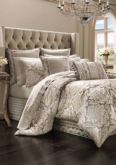 J Queen New York Bel Air Sand Comforter