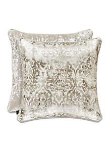 Dream Damask Square Decorative Pillow